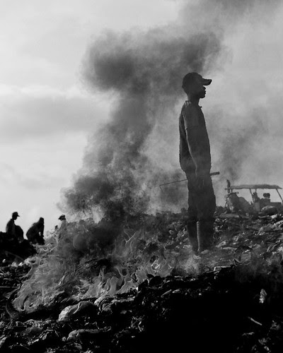 The Fire Burns on; Stung Meanchey, Cambodia