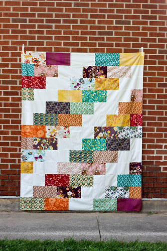 Indie Braid Quilt Top by Jeni Baker