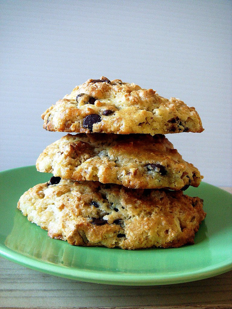 chocolate chip and pecan scones