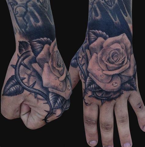 hand rose tattoo design tattoosdesign tattoos