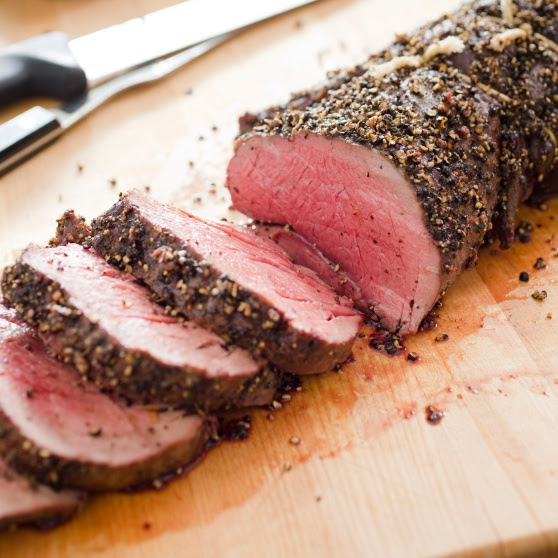 Pepper-Crusted Beef Tenderloin Roast