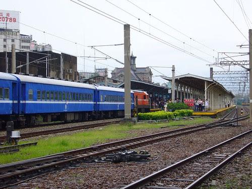 CK124專列-台中站