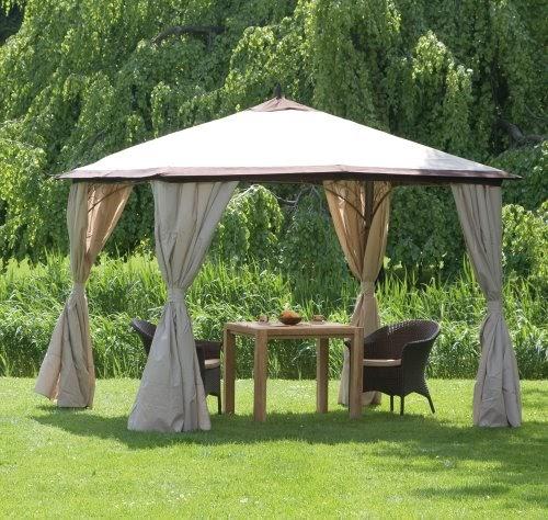 pavillon metall siena garden 104790 pavillon milos 3 x 3. Black Bedroom Furniture Sets. Home Design Ideas