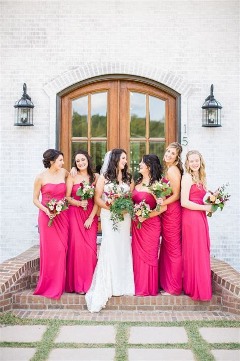 25  best Fuschia bridesmaid dresses ideas on Pinterest