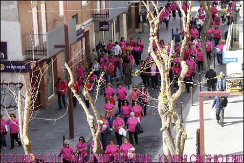 25 de marzo de 2012 - I Marcha Municipal de la Mujer - ¡Contra el cáncer no te pares!