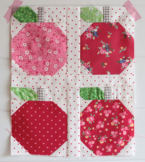 Quilty Fun Sew Along Apples