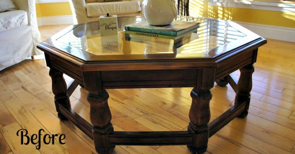 Chalk Paint Coffee Table Transformation! | Hometalk