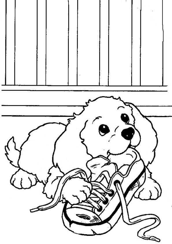 ausmalbilder hunde-7 | Ausmalbilder Malvorlagen