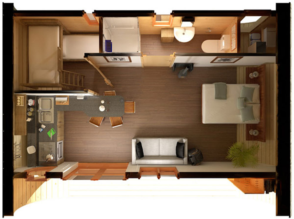 10 Great Floor Plans For Tiny Homes