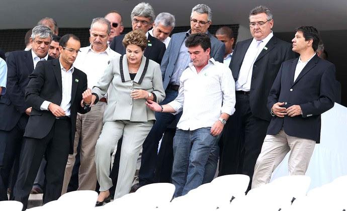 Dilma Arena Corinthians Itaquerão (Foto: Marcos Ribolli)