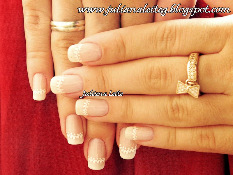 juliana leite unhas francesinha decoradas nail art french 003