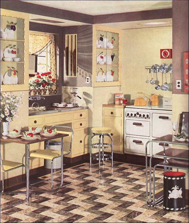 Kitchen Style Vintage Kitchens Decoration All Home ...