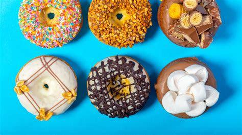wallpaper donuts delicious  food