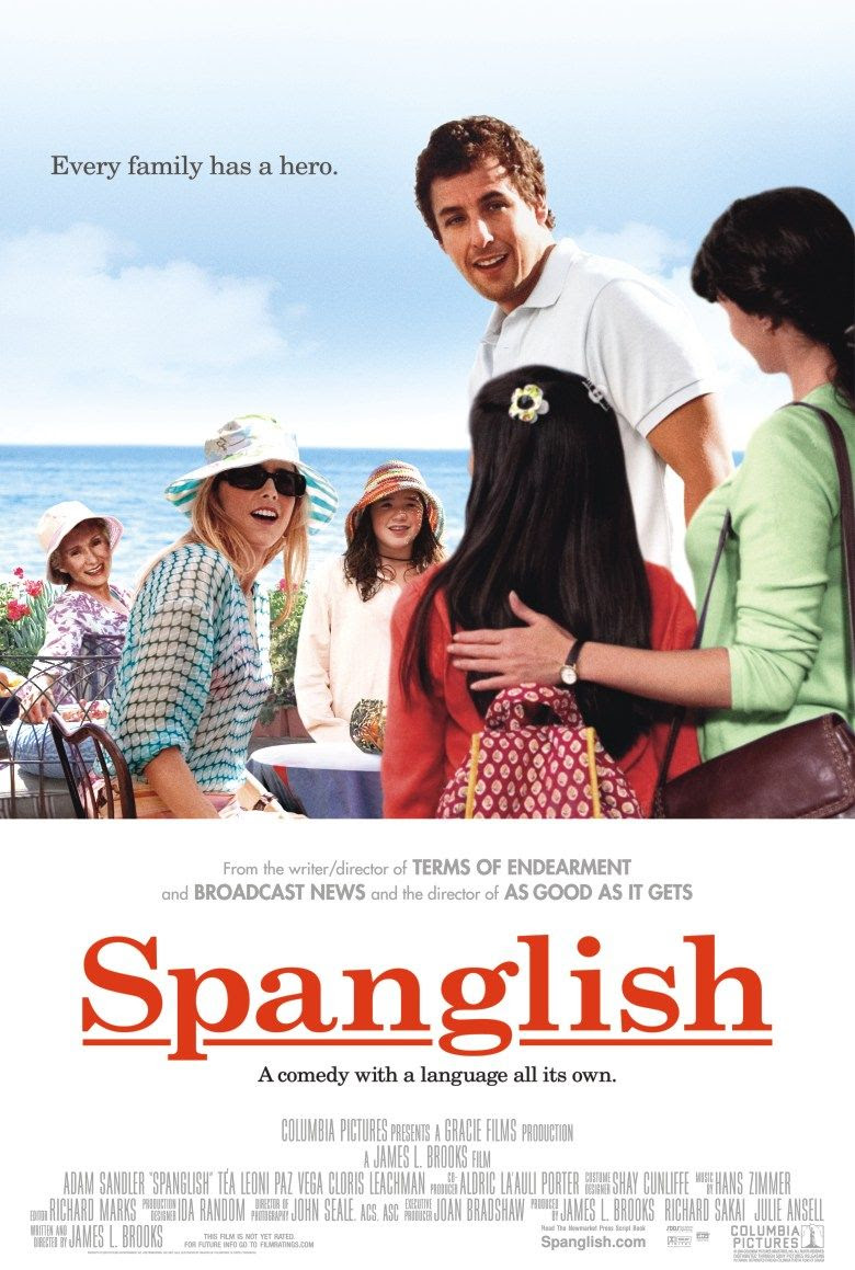 Extra Large Movie Poster Image for Spanglish (#1 of 3)