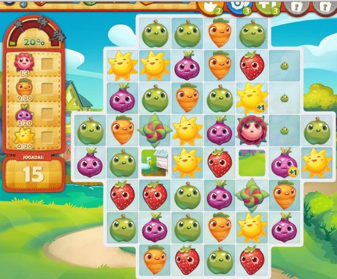 Farm Heroes Saga: Ítens especiais podem te prender no jogo (Foto: Reprodução)