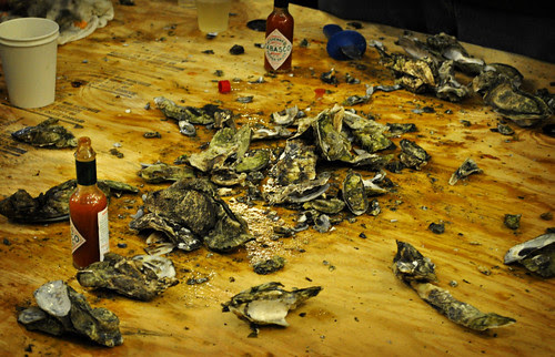 Oyster Table - The Aftermath