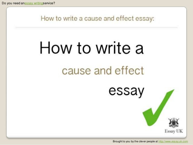 how to write cause and effect essay composition