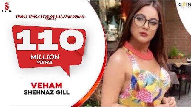 VEHAM - Full Song   Shehnaz Gill, Laddi gill   Punjabi Songs 2019  Ditto Music  St Studio - Shehnaz Kaur Gill , Sana Lyrics