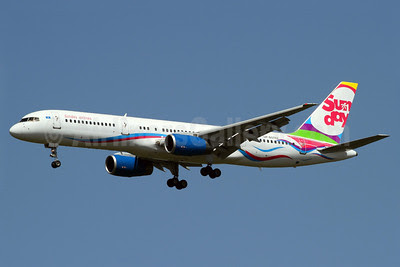 Sunday Airlines (SCAT Air Company) Boeing 757-21B UP-B5702 (msn 25083) AYT (Rainer Bexten). Image: 912367.