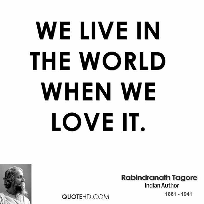 Rabindranath Tagore Quotes Quotehd