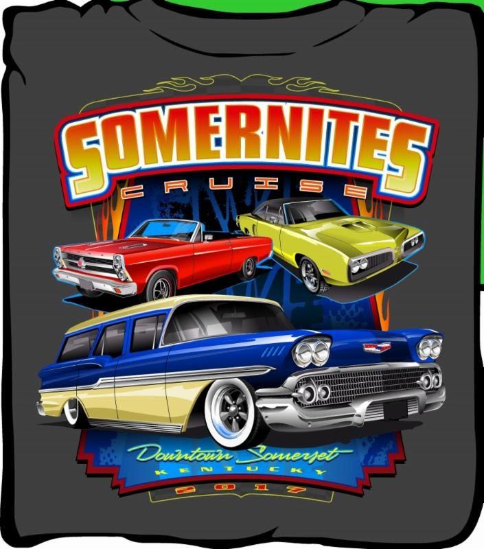 Somernites Opening Weekend Part II - Car show t shirt design ideas