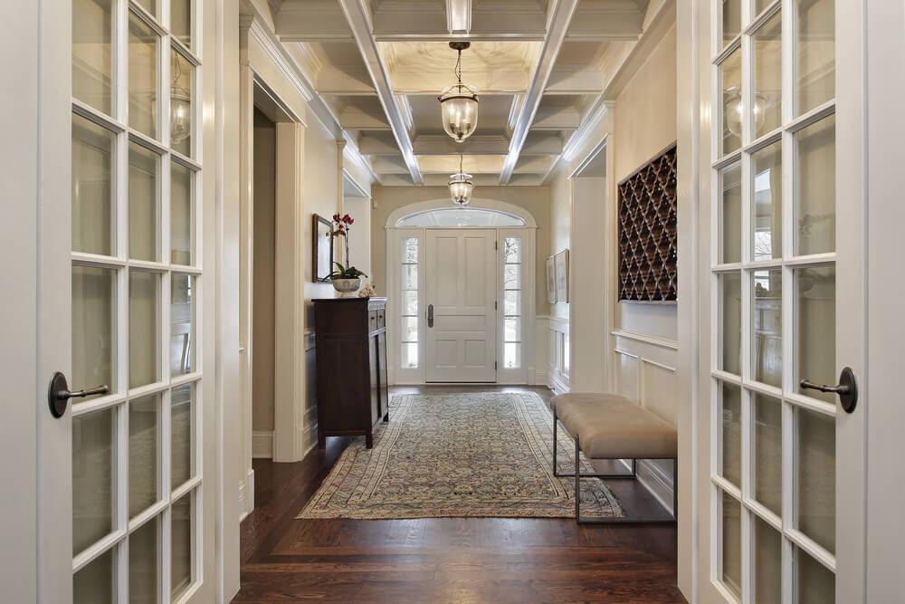 Afbeeldingsresultaat voor hall modern apartments