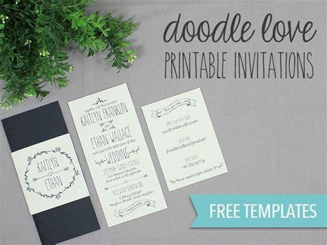 Best 25  Free printable wedding invitations ideas on