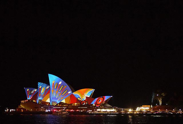 Vivid Sydney 2013 (Milsons Point, Circular Quay, The Rocks)