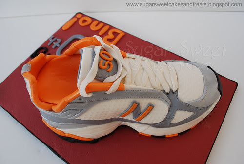 Sneaker Running Shoe Cake (Top)