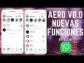 Aero 8.0 Historias de Instagram con ESTILOS NUEVOS DE PANTALLA