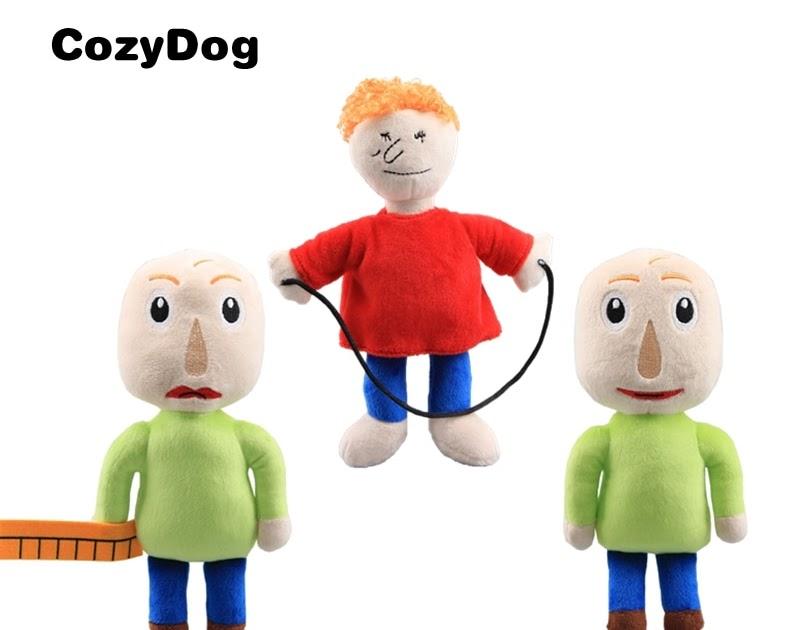 Baldi/'s Basics in Education and Learning Plush Figure Toy Stuffed Doll Kids Gift