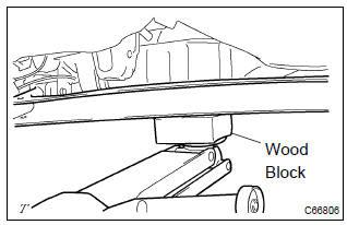 Toyota Corolla Repair Manual Rear Axle Beam Assy Rear Suspension