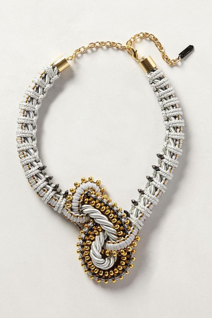 Orbit Knot Necklace