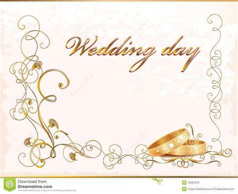 Carte de mariage de cru illustration de vecteur. Image du