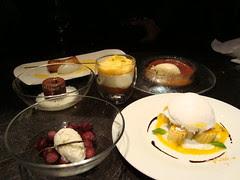 Six Desserts