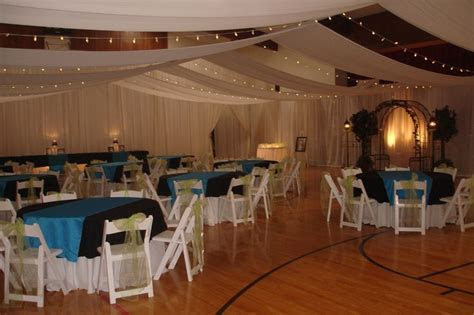 decorating gym's for wedding receptions  #