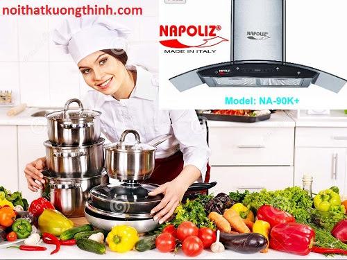 Trải nghiệm tính năng mới trong Máy hút mùi Napoliz NA 90K+