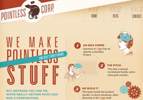 40 diseños web muy creativos - pointles scorp