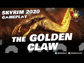 SKYRIM Gameplay 2020 (Modded)! THE GOLDEN CLAW! Retrieved!