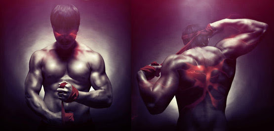05 Evil Ryu Street Fighter Art in 24 Hyper Realistic Examples of Street Fighter Characters Art