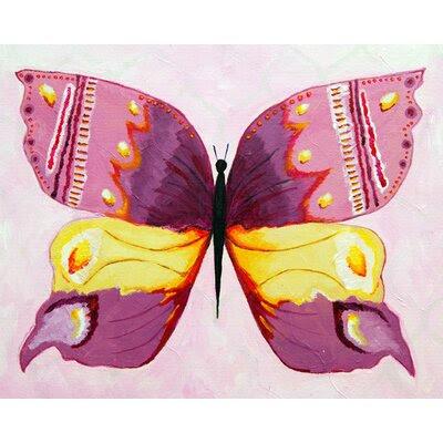 Pink Butterfly Wall Art | AllModern