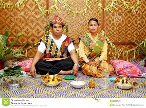 Orang Asli Wedding editorial photo. Image of wedding