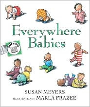 Everywhere Babies Send-A-Story by Susan Meyers: Book Cover