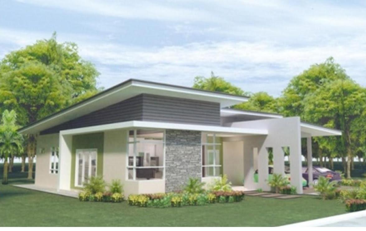 Single Storey Bungalow House Design Malaysia Interior Design