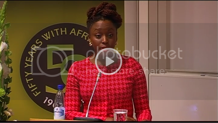 Chimamanda in Uppsala