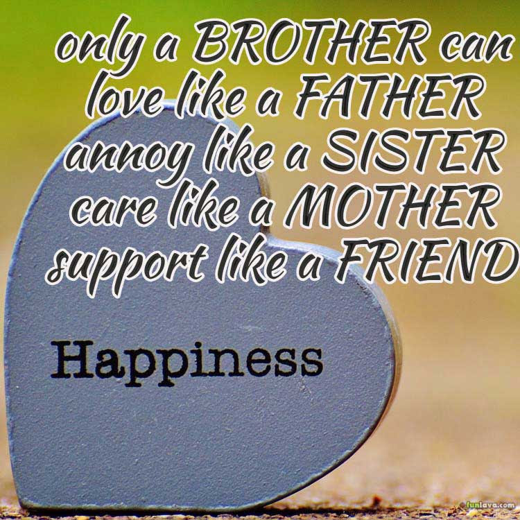 Most Beautiful Quotes About Brothers And Sisters