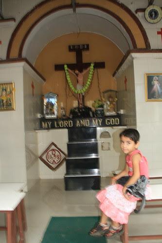The Marathi Girl And Jesus by firoze shakir photographerno1
