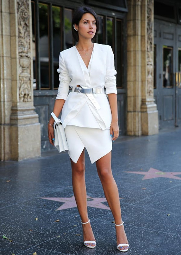 40 fashionable all white outfit ideas for women