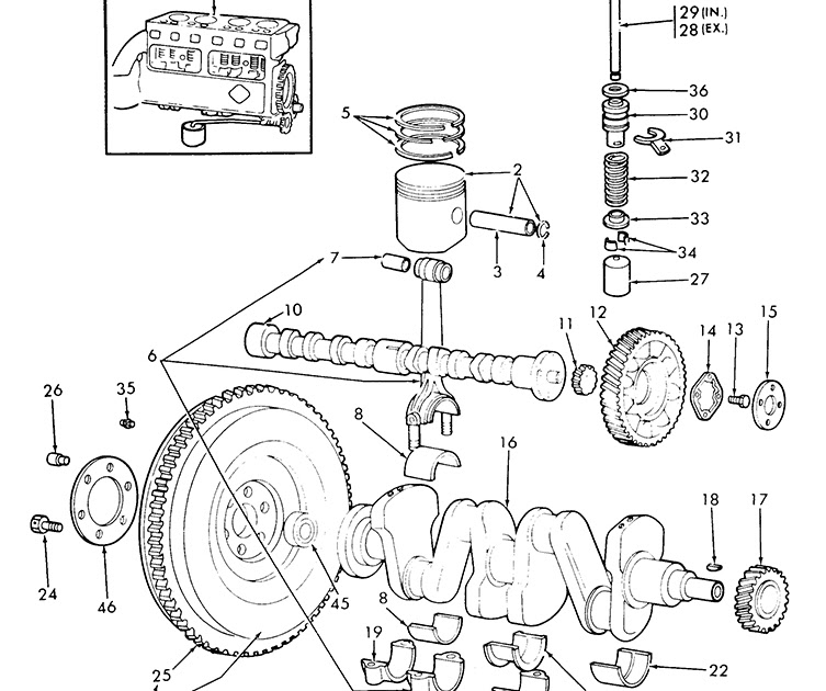 29 8n Ford Tractor Parts Diagram
