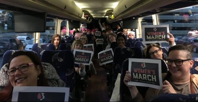 La Marcha de las mujeres tendrá lugar este sábado en Washington y se esperan otras 600 manifestaciones en todo el mundo / TWITTER